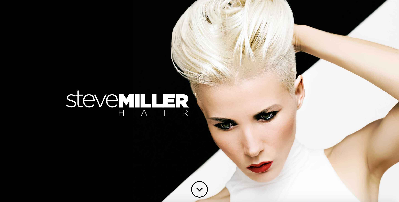 steve miller hair workshop website screenshot