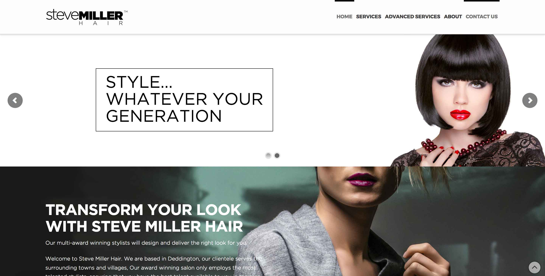 steve miller hair workshop website screenshot2